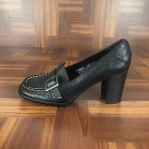 Tommy Hilfiger TOMMY GIRL EFFIE Black Loafer Heels